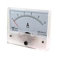 Panel Current Meter 0-10A