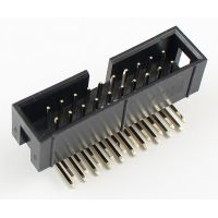 IDC Connector 2x10 Pin Male Angle