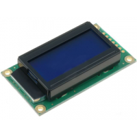 Basic 8x2 Character LCD - White on Blue 5V