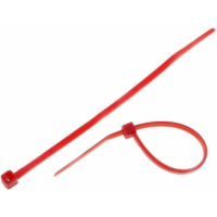 Cable Tie Red- 100pcs