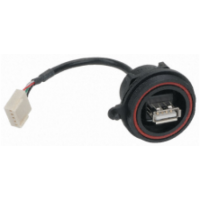 USB Weatherproof Connector - Panel Mount (USB A)