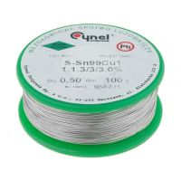 Soldering Wire 100g 0.5mm - Lead Free