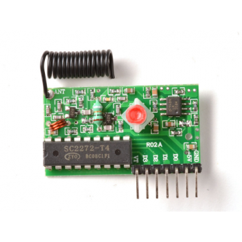 Simple RF L4 Receiver - 315MHz Latching Selector Type