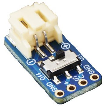Switched JST-PH 2-Pin SMT Right Angle Breakout Board