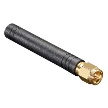 Mini GSM/Cellular Quad-Band Antenna - 2dBi SMA Plug