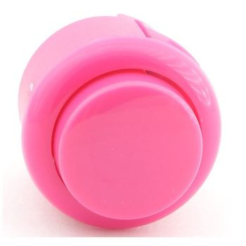 Arcade Push Button Mini 27mm - Pink
