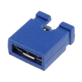 Jumper Pin Female 2.54mm 2-Pin Blue