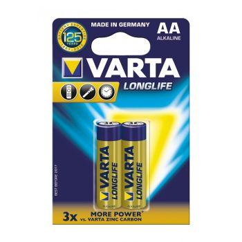 Μπαταρία Varta Alkaline Longlife LR3 1.5V AA (2pack)