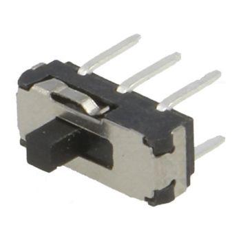 Slide Switch DPDT ON-ON 0.3A/6VDC