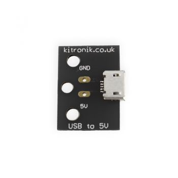 Micro USB to 5V breakout