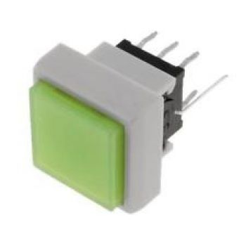 Tact Switch 12x12mm Green