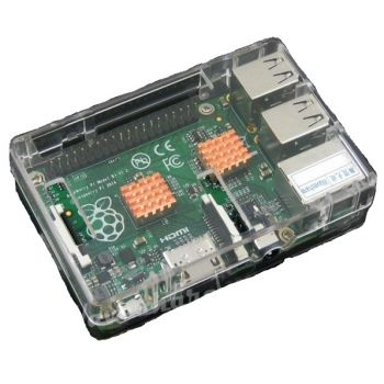 Waveshare Case for Raspberry Pi Clear
