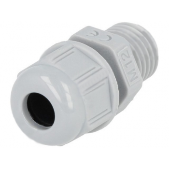 Cable Gland M12 - Light Grey