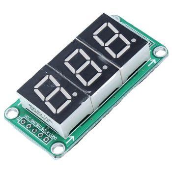 Display Module 7-Segment 3 Digit with 74HC595