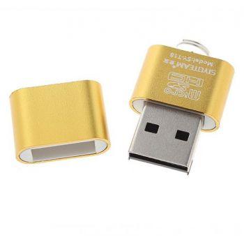Siyoteam USB 2.0 Micro SD/Micro Card Reader