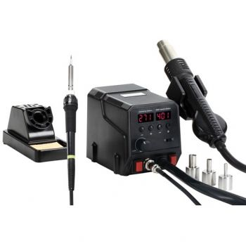 Soldering Station 60W + Hot Air Station 300W - ZD-8922