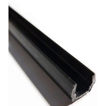 Slot Cover / Panel Holder Black 1m
