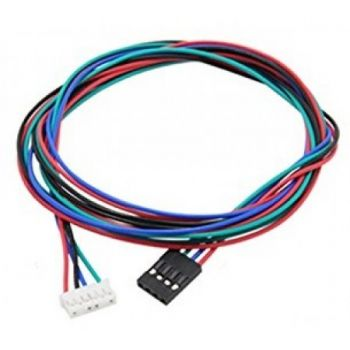 Wire 4P for Stepper Motor 100cm (JST PH 6P-DUPONT)