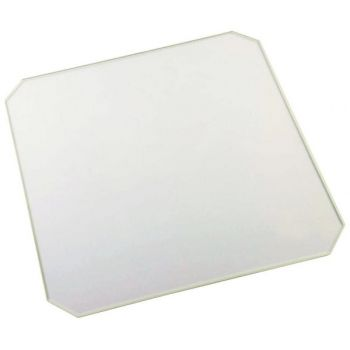 Heat Bed Glass Chamfer - 214x214x3mm