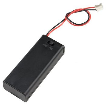 Battery Holder 2xΑΑA with JST PH Connector