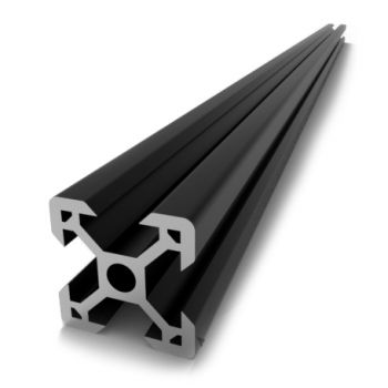 V-Slot 2020 250mm - Black Anodized