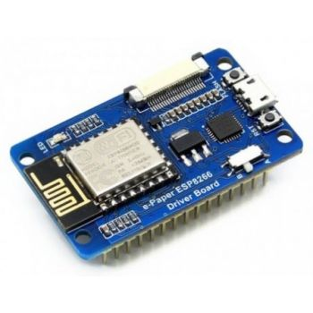 Universal e-Paper Raw Panel Driver Board, ESP8266 WiFi