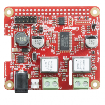JustBoom Amp HAT for Raspberry Pi