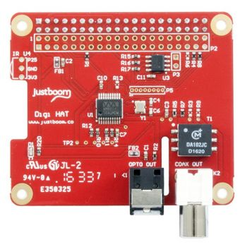 JustBoom Digi HAT for Raspberry Pi