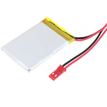 Polymer Lithium Ion Battery - 3.7v 550mAh
