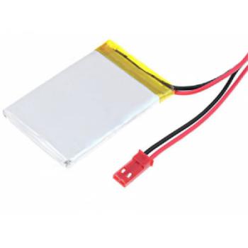 Polymer Lithium Ion Battery - 3.7v 550mAh