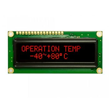 Red Character OLED 16x2