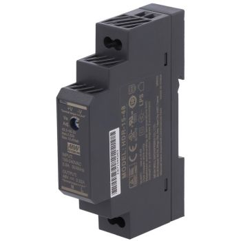 Din Power Supply 48V 0.32A MeanWell - HDR-15-48