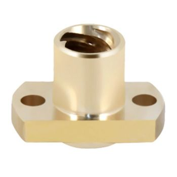 Nut for Lead Screw T8 Lead 8mm H-Flanged (Brass)