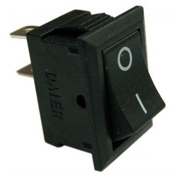 Rocker switch ON-OFF Black