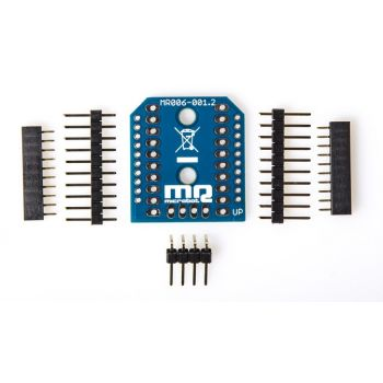 XBee to DIP Adapter with Connectors