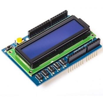LCD Shield for Arduino 16x2 Blue V2