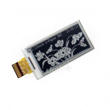 """Pi Display e-Paper 2.13"""" 250x122 (Black-White)"""