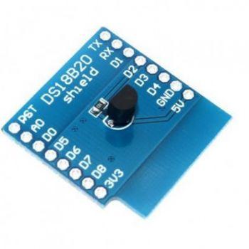WeMos D1 Mini Temperature Shield - DS18B20