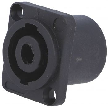 Speaker Connector Male 4P for Panel Square - Cliffcon S