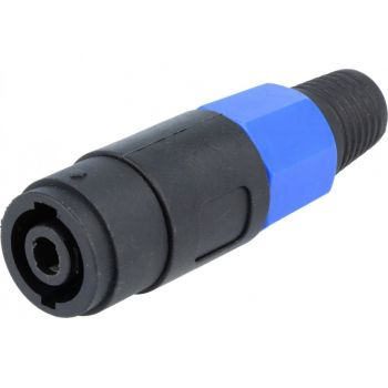 Speaker Connector Male 4P for Cable - Cliffcon S