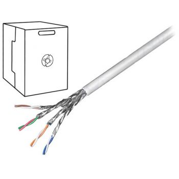 UTP Cable Cat 6 23AWG 1m Grey
