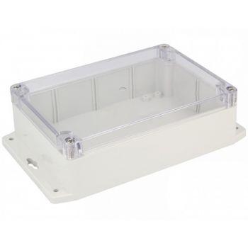 Project Box 171x121x55mm Grey/Transparent (Gainta G214CMF)