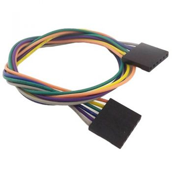 Jumper Wires 6-Pin 30cm Female to Female