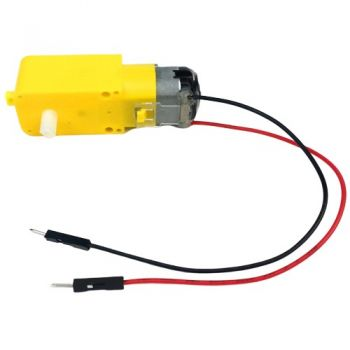 DC Gear Motor TT - 130 RPM (With Wire)