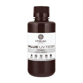 PrimaCreator Value Flex UV Resin - 500ml - Light Gray