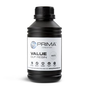 PrimaCreator Value UV Resin - 500ml - White