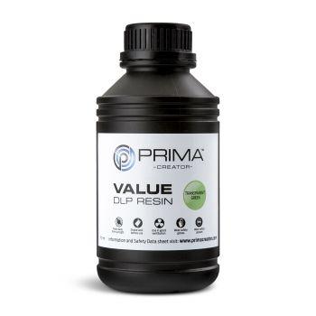 PrimaCreator Value UV Resin - 500ml - Transparent Green