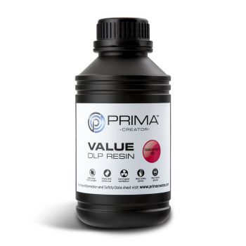 PrimaCreator Value UV Resin - 500ml - Transparent Red