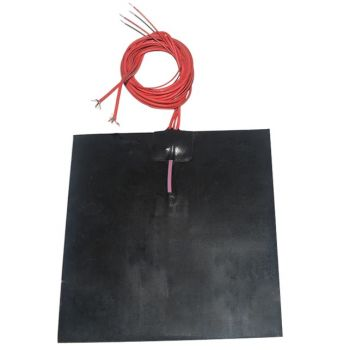Silicone Heatbed 200x200mm - 24V 200W Black