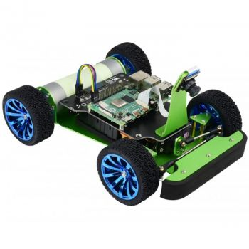 PiRacer DonkeyCar, AI Racing Robot for Raspberry Pi 4